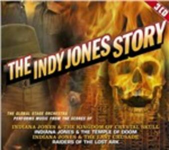 Indy Jones Story (Colonna Sonora) - CD Audio di Global Stage Orchestra