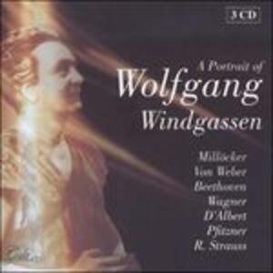 A Portrait of - CD Audio di Wolfgang Windgassen