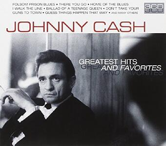 Greatest Hits and Favorites - CD Audio di Johnny Cash