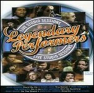 Legendary Performers. Live Studio Sessions - CD Audio