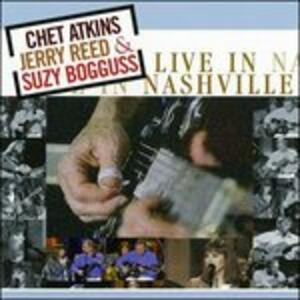 Live in Nashville - CD Audio di Chet Atkins