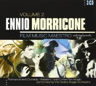Film Music vol.2 (Colonna Sonora) - CD Audio di Ennio Morricone