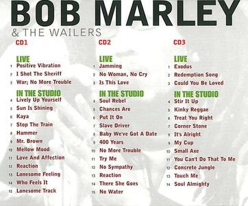 Live & in the Studio - CD Audio di Bob Marley,Wailers - 2