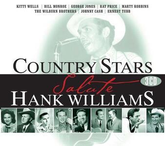 Country Stars Salute Hank Williams - CD Audio