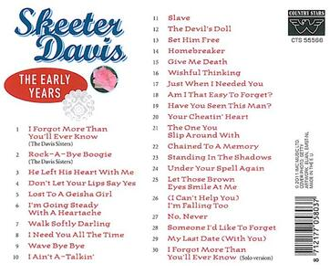 Not That Easy - CD Audio di Skeeter Davis - 2
