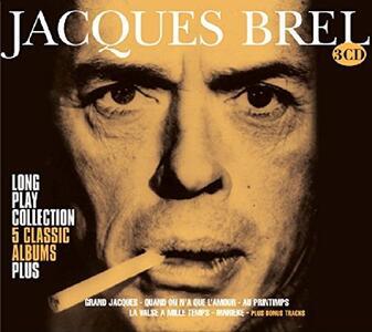 Long Play Collection 5 - CD Audio di Jacques Brel