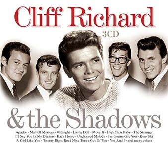 Cliff Richard & the Shadows - CD Audio di Shadows,Cliff Richard