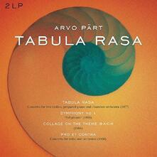 Tabula Rasa - Vinile LP di Arvo Pärt
