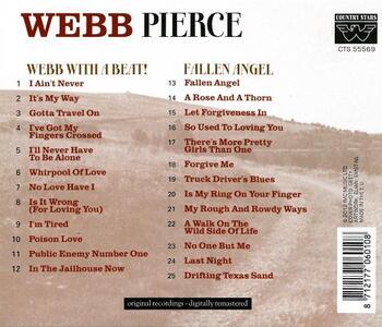 Webb with a Beat Fallen - CD Audio di Webb Pierce - 2