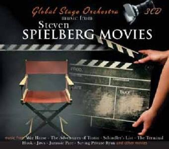 Music from Spielberg Movies (Colonna Sonora) - CD Audio di Global Stage Orchestra