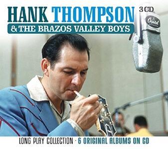 Long Play Collection - CD Audio di Hank Thompson,Brazos Valley Boys