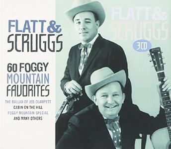 60 Foggy Mountain.. - CD Audio di Lester Flatt,Earl Scruggs
