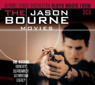 The Jason Bourne Movies (Colonna Sonora) - CD Audio di Global Stage Orchestra