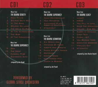 The Jason Bourne Movies (Colonna Sonora) - CD Audio di Global Stage Orchestra - 2