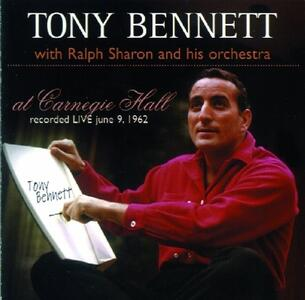 At Carnegie Hall - CD Audio di Tony Bennett