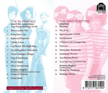 Meet the Supremes - Playboy - CD Audio di Supremes,Marvelettes - 2