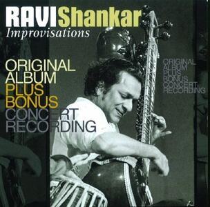 Improvisations - CD Audio di Ravi Shankar