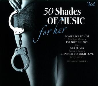 50 Shades of Music - CD Audio