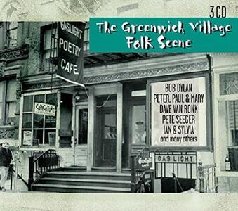 The Greenwich Village Folk Scene - CD Audio