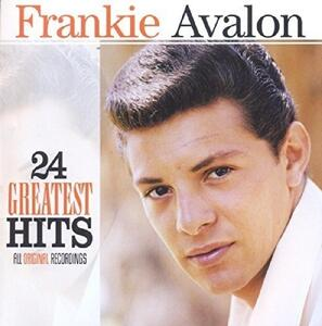 24 Greatest Hits - CD Audio di Frankie Avalon