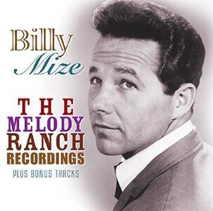 Melody Ranch Recordings - CD Audio di Billy Mize