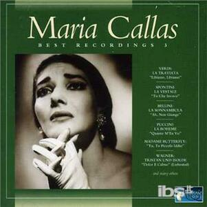 Best Recordings 3 - CD Audio di Maria Callas