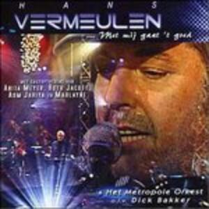 Met Mij Gaat Alles Goed - CD Audio di Hans Vermeulen