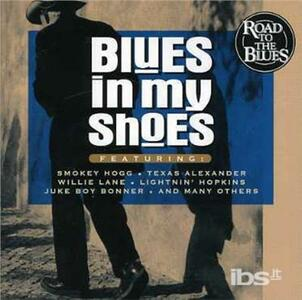 Blues in My Shoes - CD Audio