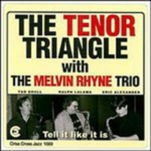 Tell it Like it is - CD Audio di Melvin Rhyne