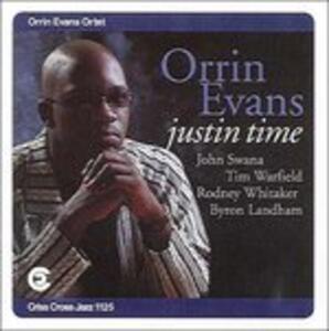 Just in Time - CD Audio di Orrin Evans
