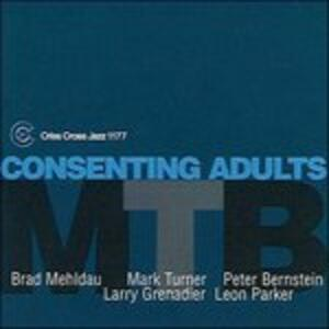 Consenting Adults - CD Audio di Brad Mehldau