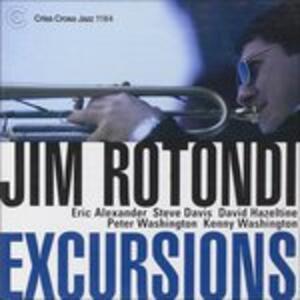 Excursions - CD Audio di Jim Rotondi
