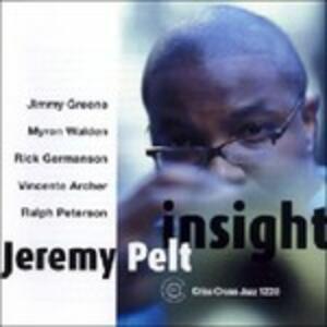 Insight - CD Audio di Jeremy Pelt
