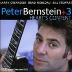 Heart's Content - CD Audio di Peter Bernstein