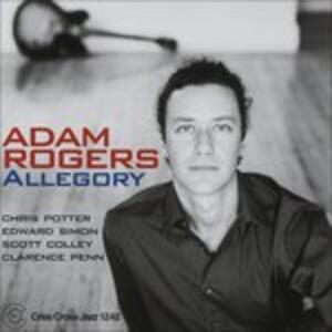 Allegory - CD Audio di Adam Rogers