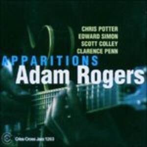 Apparitions - CD Audio di Adam Rogers