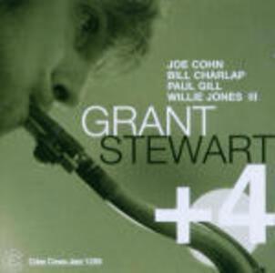 Grant Stewart +4 - CD Audio di Grant Stewart