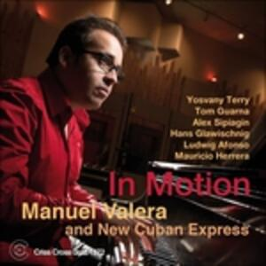 In Motion - CD Audio di Manuel Valera