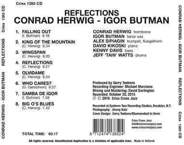 Reflections - CD Audio di Conrad Herwig,Igor Butman - 2