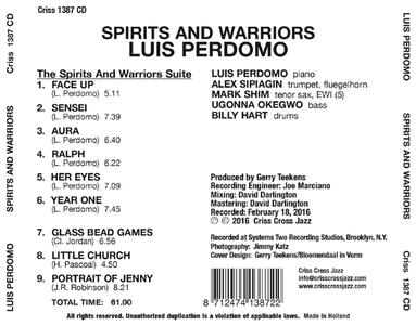 Spirits and Warriors - CD Audio di Luis Perdomo - 2