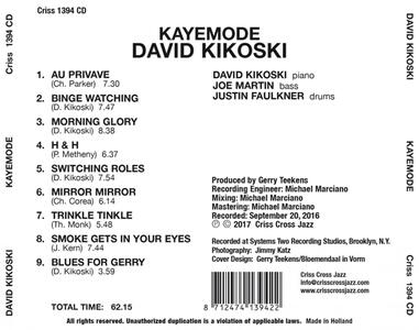 Kayemode - CD Audio di David Kikoski - 2
