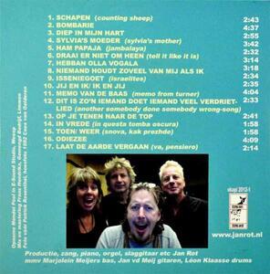 Grote Jan Rotplaat - CD Audio di Jan Rot - 2
