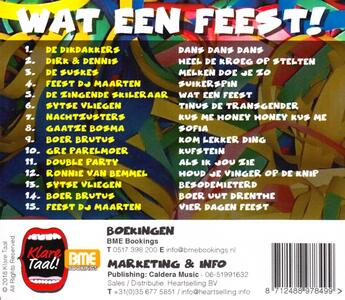 Wat Een Feest! - CD Audio - 2