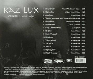 Dismantled Swan Songs - CD Audio di Kaz Lux - 2