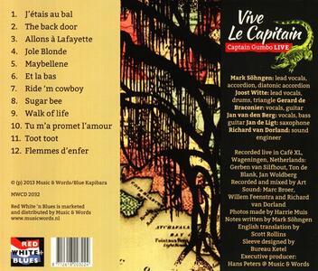 Vive le Captain - CD Audio di Captain Gumbo - 2
