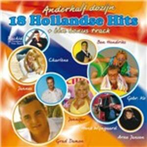18 Hollandse Hits - CD Audio