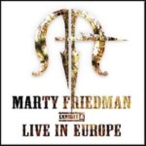 Exibit A. Live in Europe - CD Audio di Marty Friedman