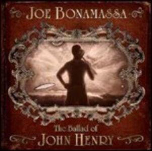 Foto Cover di The Ballad of John Henry, CD di Joe Bonamassa, prodotto da Mascot