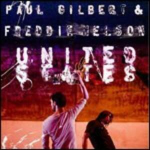 United States - CD Audio di Paul Gilbert,Freddie Nelson