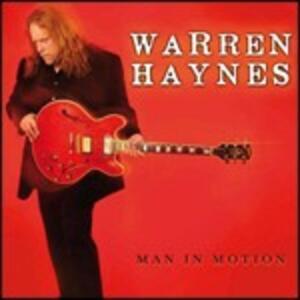 Man in Motion - CD Audio di Warren Haynes